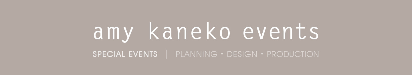 Amy Kaneko Events – Blog