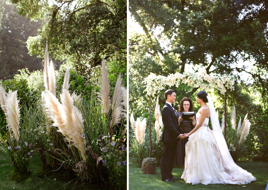 Martha Stewart Weddings: Press: Whimsical Wine Country Wedding On Martha Stewart