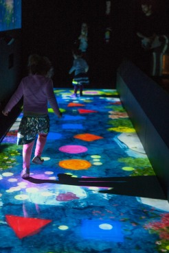 Pace Gallery teamLab VIP Family Day